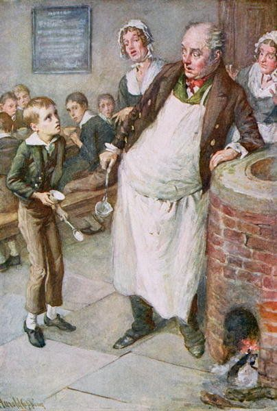 The Charles Dickens Page - Oliver Twist Asks for More